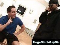 Gay huge cock interracial blowjob