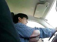 Caught masterbating in the cab