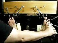 Bondaged Guy Gets Feet Tickled