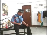 Thai Security Guard fucking gays