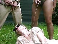 Horny Men Humiliating CD Outdoor