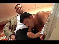 Office Guys Steamy Sex