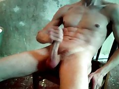 Aroused Chap Jerking Off Alone at passionclips.com