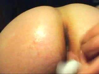 Sex toy insertion & cumming