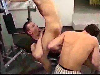 Gym Guy Handles Two Stiff Rods