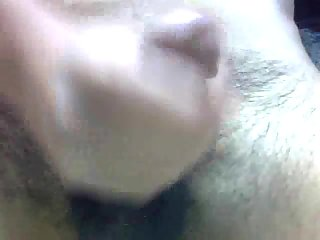 Close-Up Sloppy Dick Wanking
