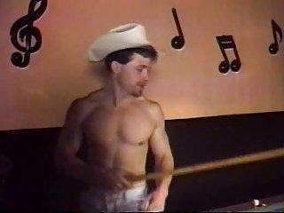 Naughty Cowboys Messy Blowjob