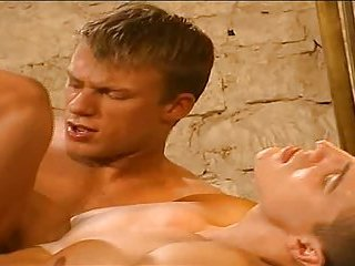 Naughty Guys Try Safe Sex With Cumshot