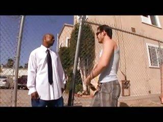 Hot Cock Sucking Before Interracial Screwing