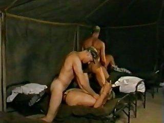 hot soldiers practising