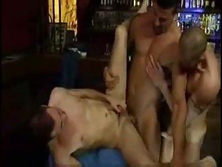 Horny trio ass fucking