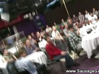 Gay tasting cocks at the strippers club