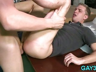 Two sexual gays have fun