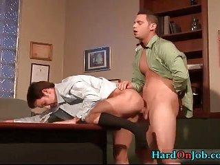 Extreme gay cock sucking and gay ass fucking video