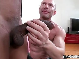 hardcore butt fuck for muscled gay dude getting ass wrecked