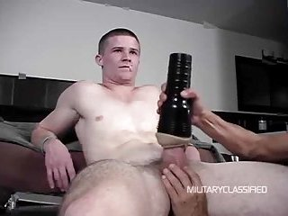 Guy Gets Jerked With A Toy