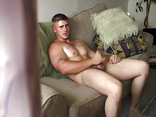 Luscious Guy Beating Off