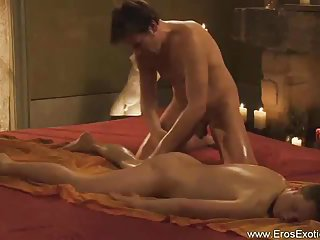 Sensual Massage For Lucky Guy