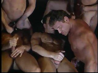 Horny Gay Foursome Fuck