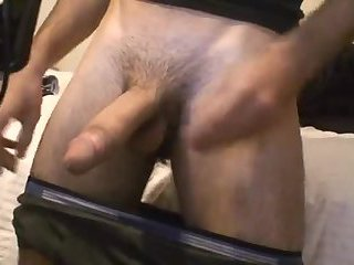 Hot Amateur Jerking Big Cock