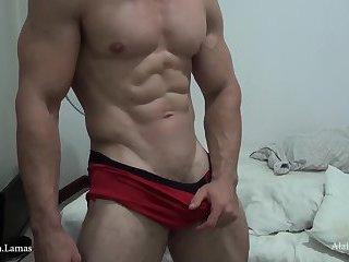 Sexy Fucking Pumped up Jock