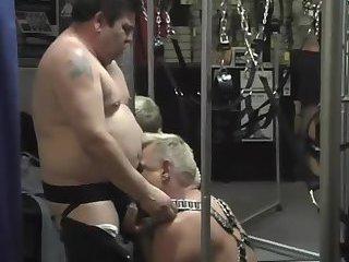 Horny Studs Domination Sucking