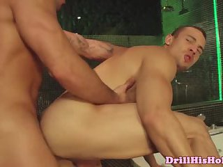Powerful jock ass slamming cherry