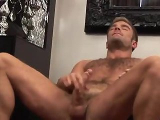 Luscious Hunk Tugging Dick