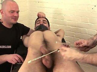 Naughty Gay Trio Enjoys Blowjob